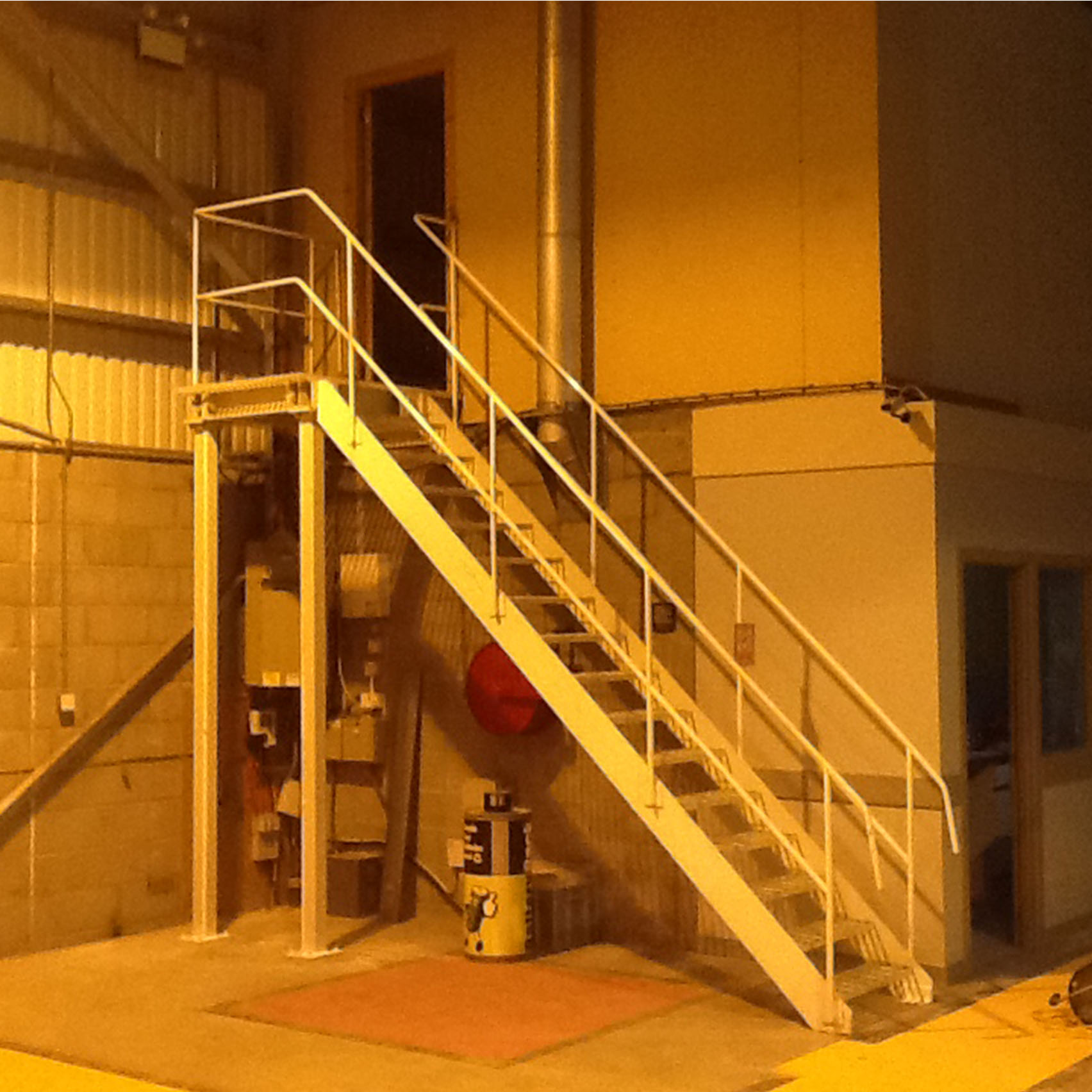 MSL Remove Old Staircase in Warehouse