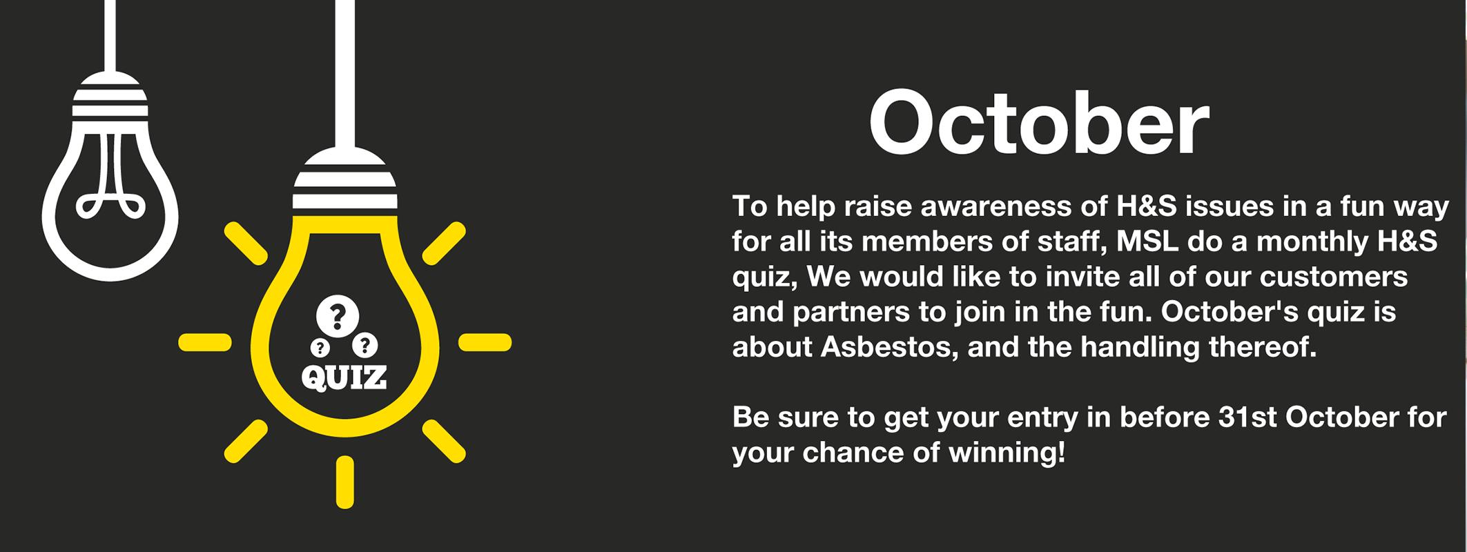 MSL October 2016 Quiz - Asbestos