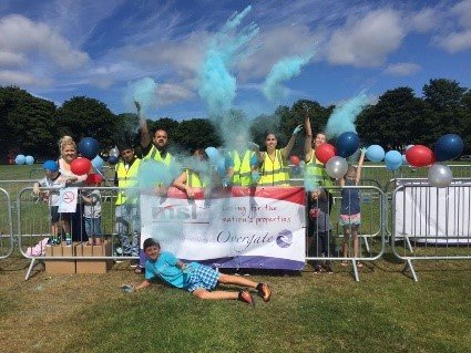 MSL Support The Colour Run