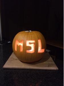 MSL Halloween Pumpkin