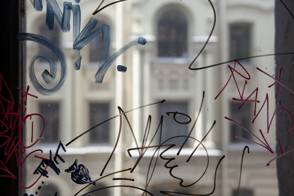Graffiti on Window