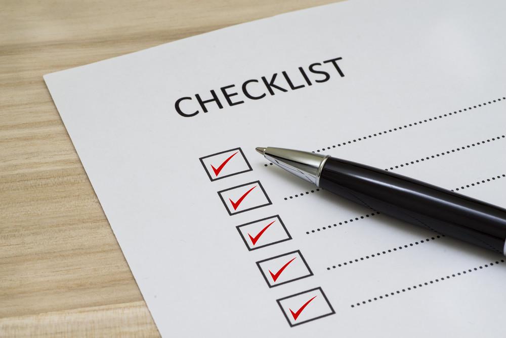 Empty Checklist